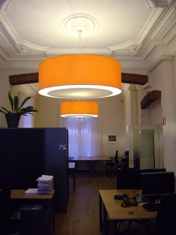 ACBN hanglampen oranje 150cm