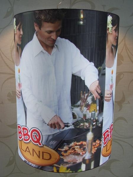 Lampenkappen met BBQ