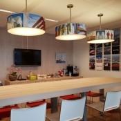lampenkap blender kantine ontwerp bedrukt