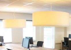 hanglampen 110cm offwhite projectstof