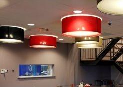 Hanglamp tegen systeemplafond