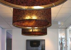 Hanglamp 90cm van stof