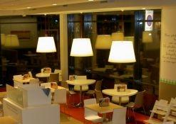 Lampenkappen HEMA restaurant
