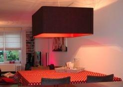 Vierkante hanglampen met afgeronde hoek