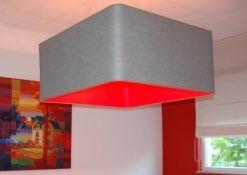 vierkante lampenkap afgeronde hoek