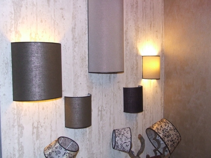 Wand lampenkappen