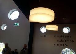 kunststof hanglamp druppel