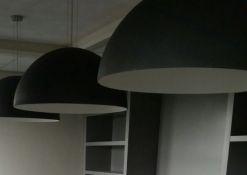 betonnen koepellampen 70cm