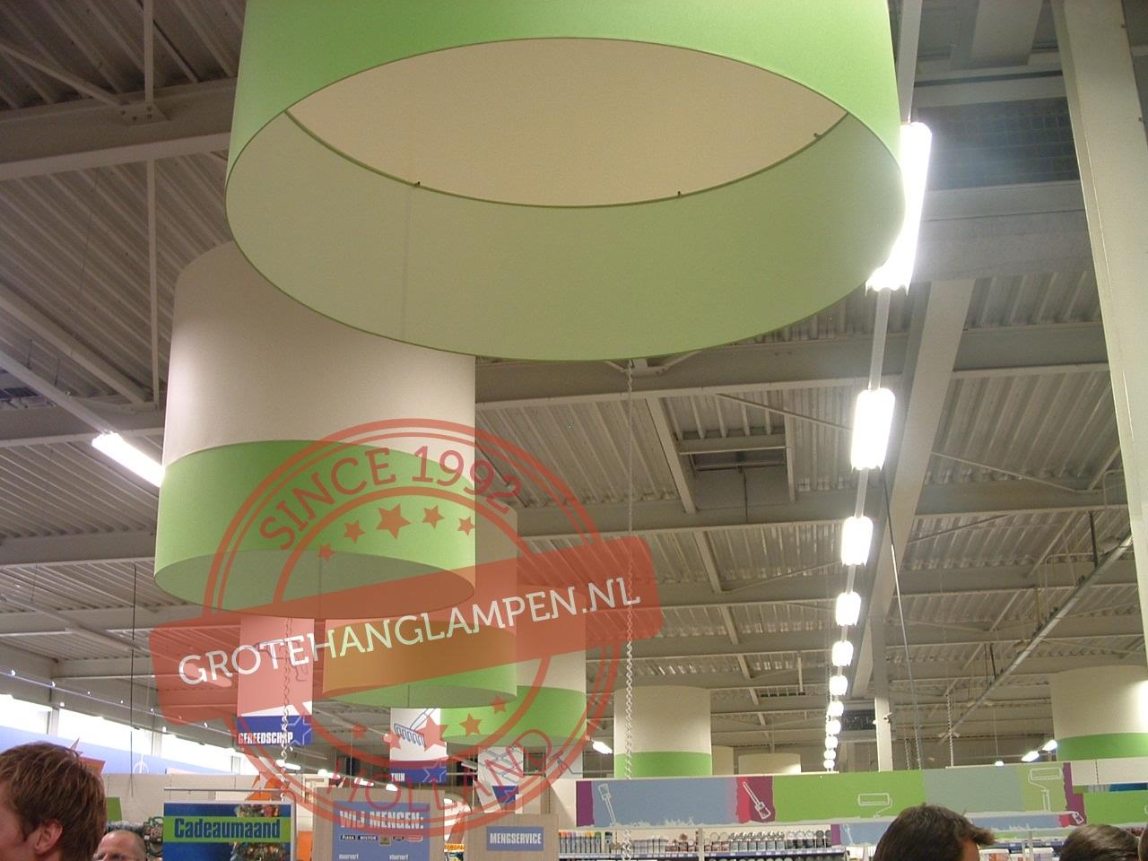 Winkelverlichting, technische en sfeerverlichting voor winkels    Grotehanglampen nl